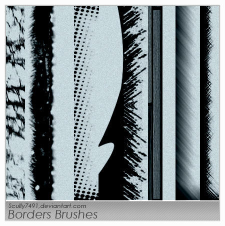 Border Brushes by Scully7491