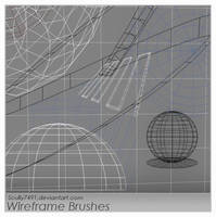 Wireframe Brushes by Scully7491