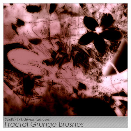 Fractal Grunge Brushes by Scully7491