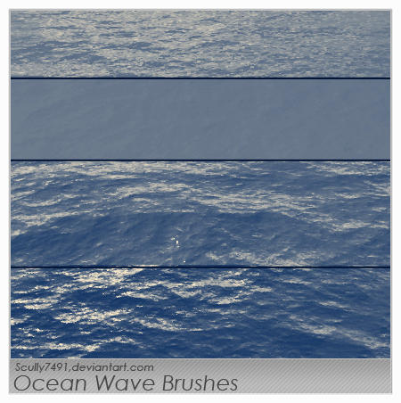 Ocean Wave Brushes By Scully7491 On Deviantart