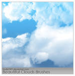 Beautiful Clouds Brushes