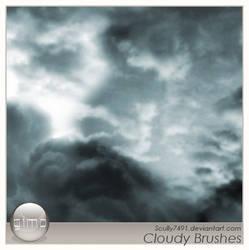Cloudy Brushes version Gimp