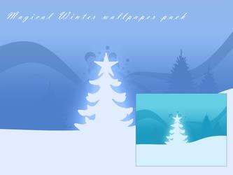 Magical Winter Wallpaper Pack