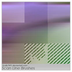 Scan Line Brushes