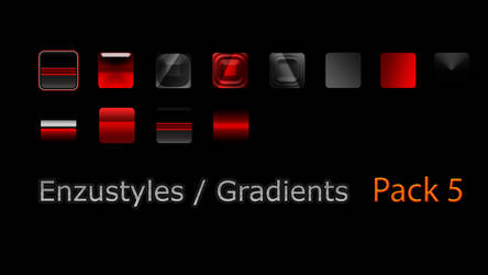 Enzustyle And Gradient Pack 5 by EnzuDes1gn