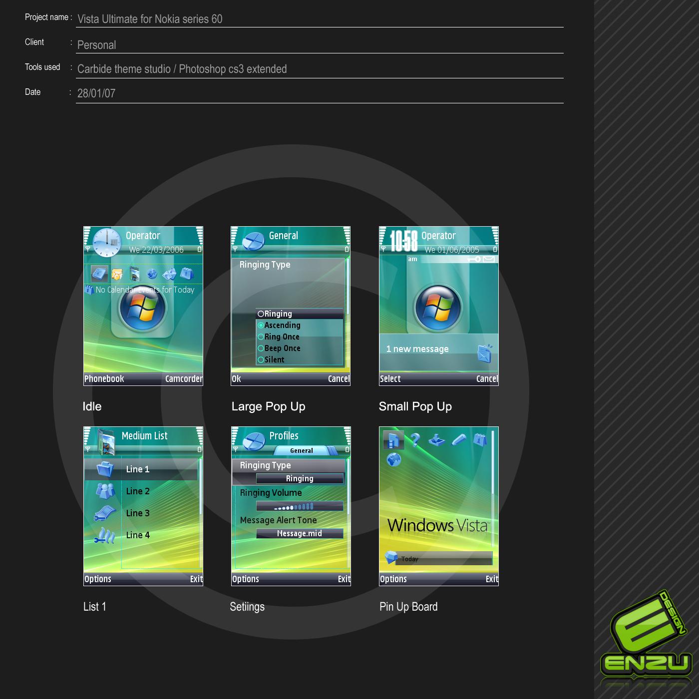 Vista ultimate series60v3 by EnzuDes1gn