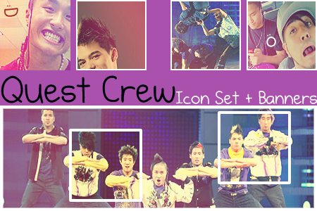 Quest Crew Icon + Banner Set by sweetbeloved