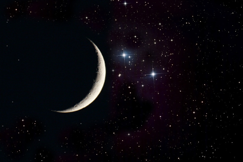 moon and stars - 800×532