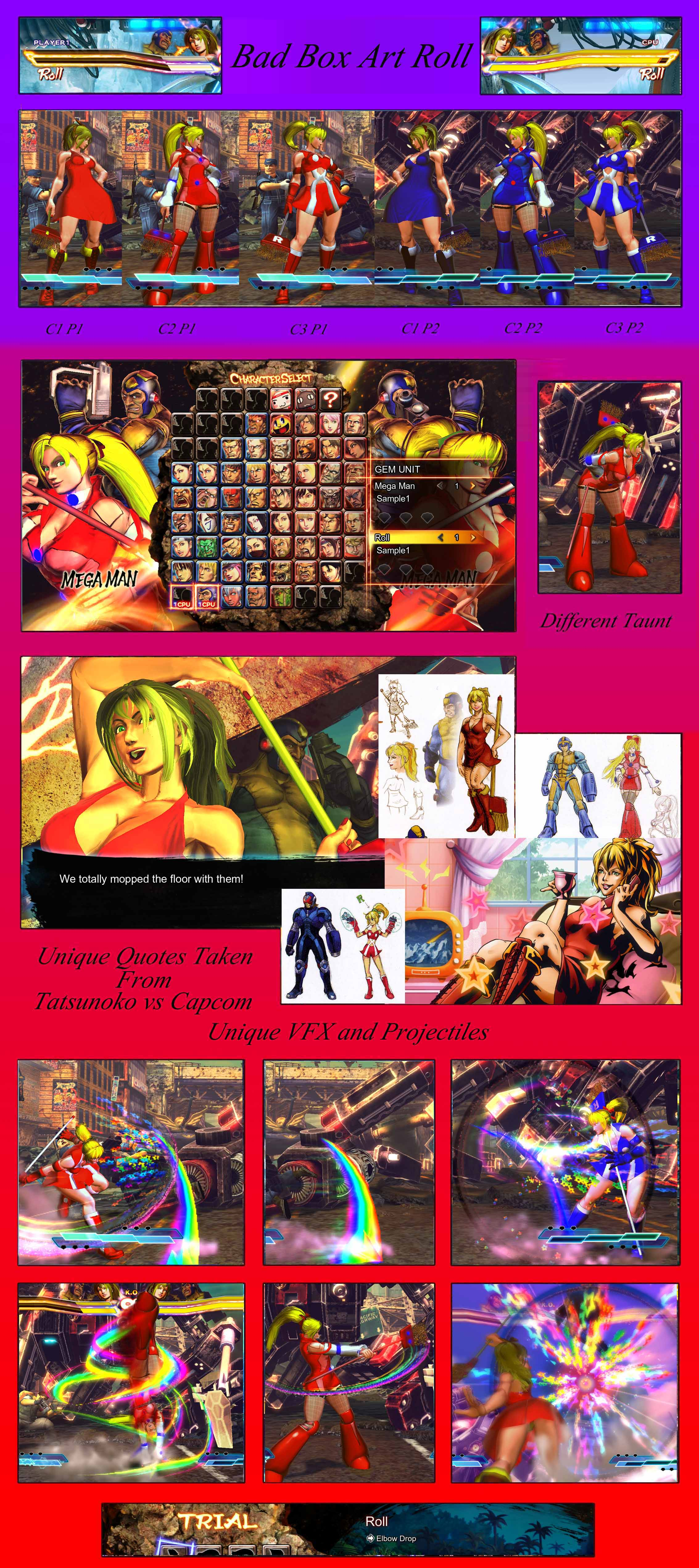 bad box art roll new character expansion sfxt mods. Black Bedroom Furniture Sets. Home Design Ideas