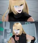 Tekken 7 Lili with darker Gothic lipstick