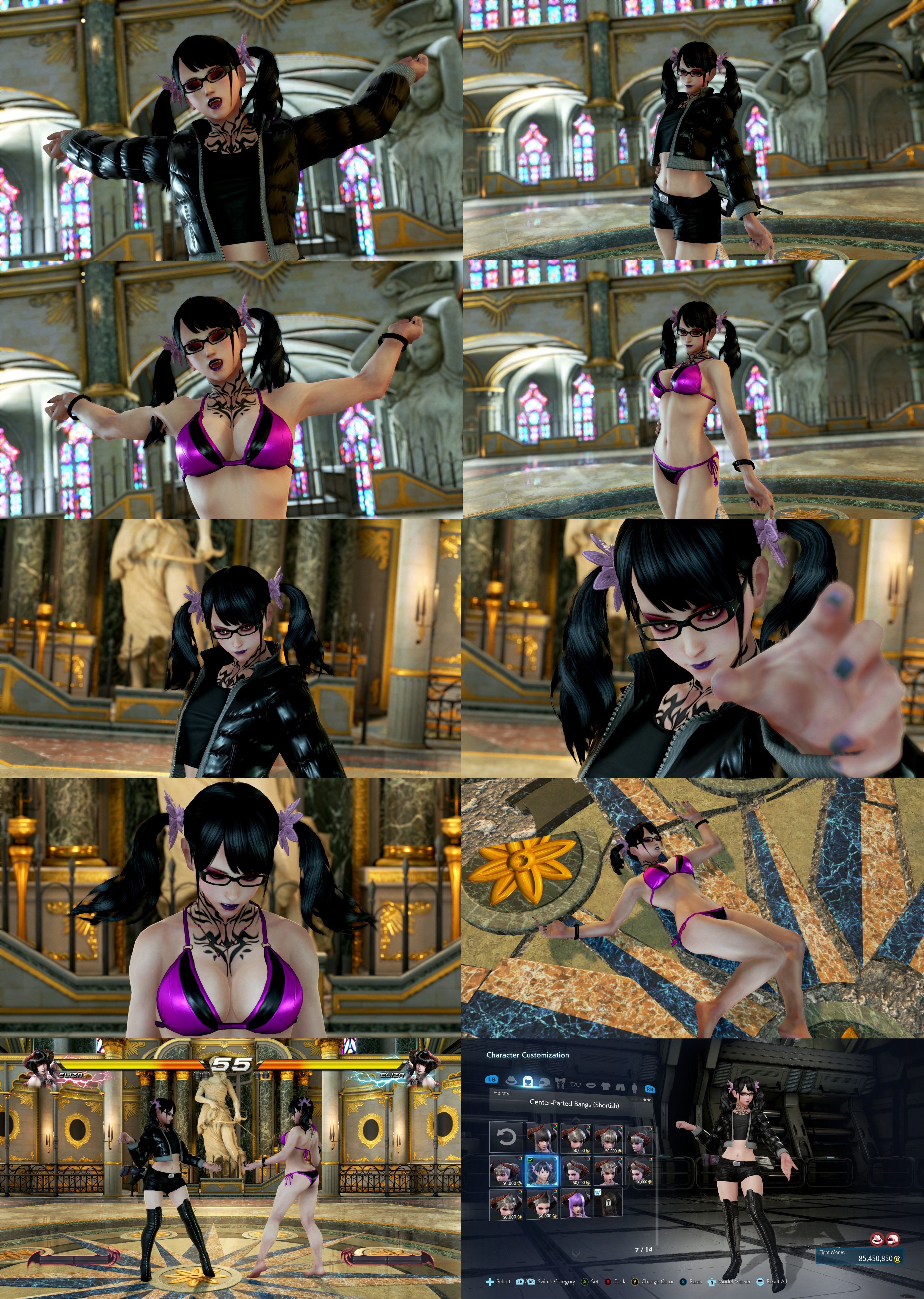 Tekken 7 Eliza Pigtails