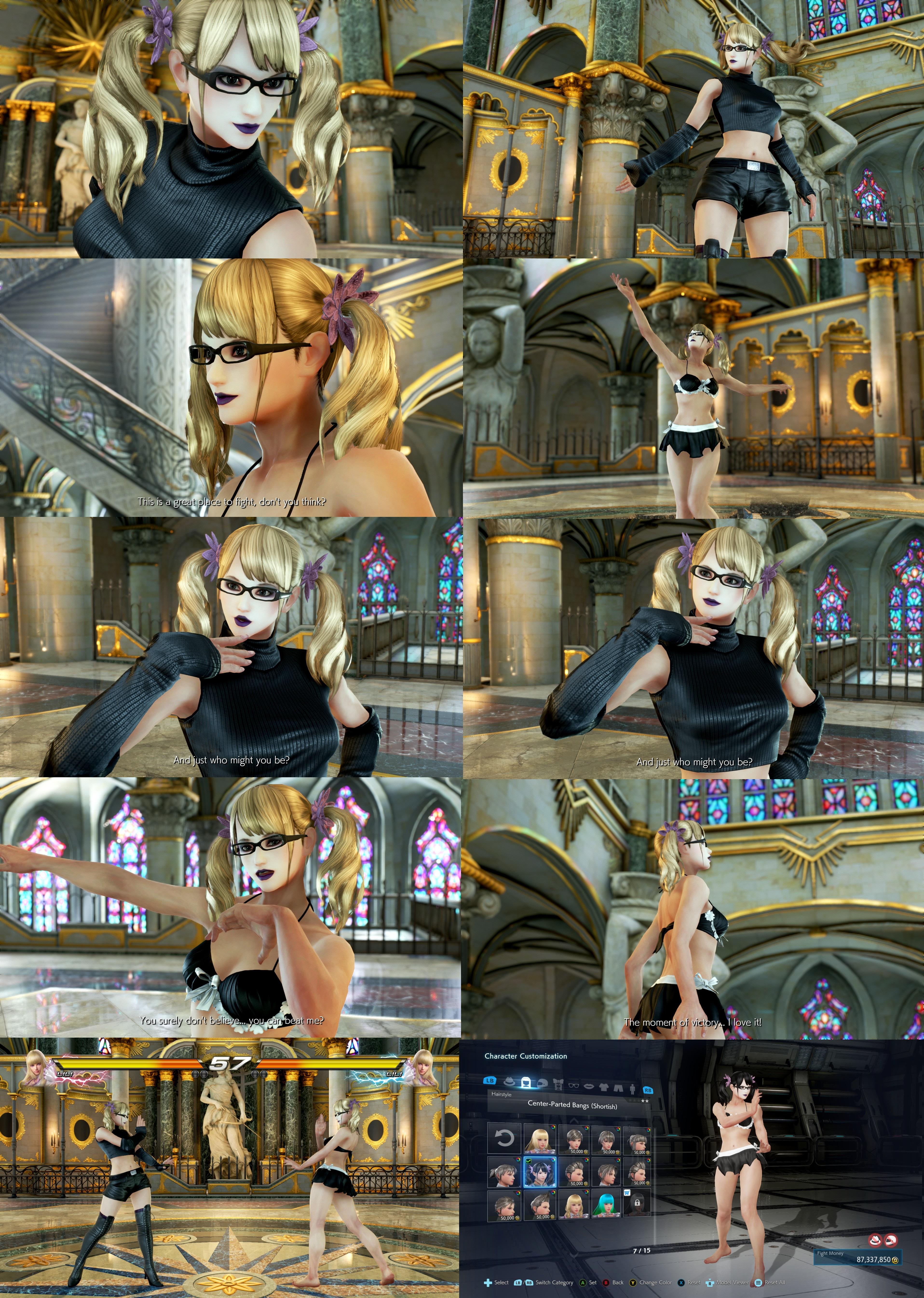 Tekken 7 Lili Pigtails