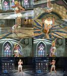 Tekken 7 Nina Ruffled Bikini Skirt
