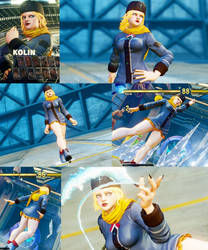 Kolin Story no pants, no gloves and no face cover by bbbSFXT