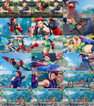 Cammy Cannon Spike Black Hair Non Jacked Uncensor