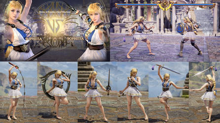 Sophitia's face for CAS by bbbSFXT