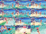 Barefoot, Barehands and No Hats NPCs Kanzuki Beach