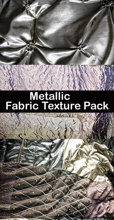 Metallic Fabric Texture Pack