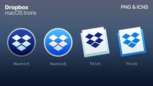 Dropbox - macOS Styled Icon