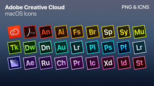 Adobe Creative Cloud - macOS Styled Icons