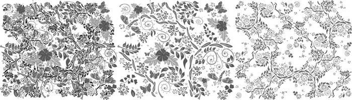 Batik Pattern by amade
