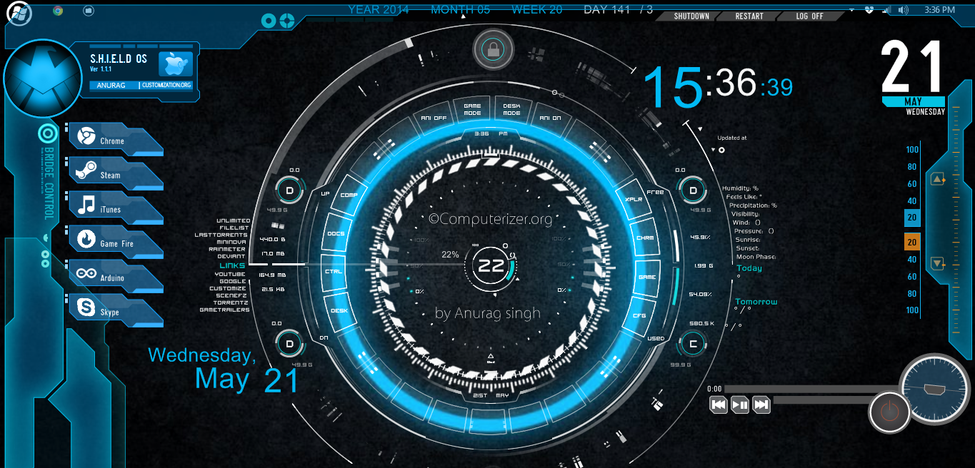 Jarvis Vortex With Rmskin Final Relese By