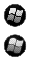 Carbon Fiber Windows 7 Start Orb