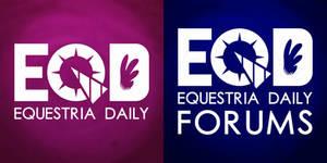 Equestria Daily Logos - 3780px