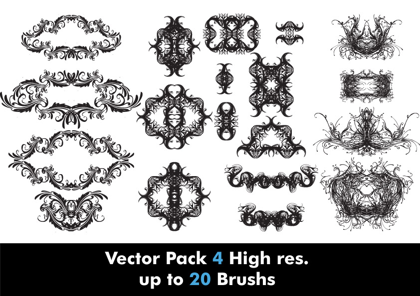 Vector Pack -4 High res.
