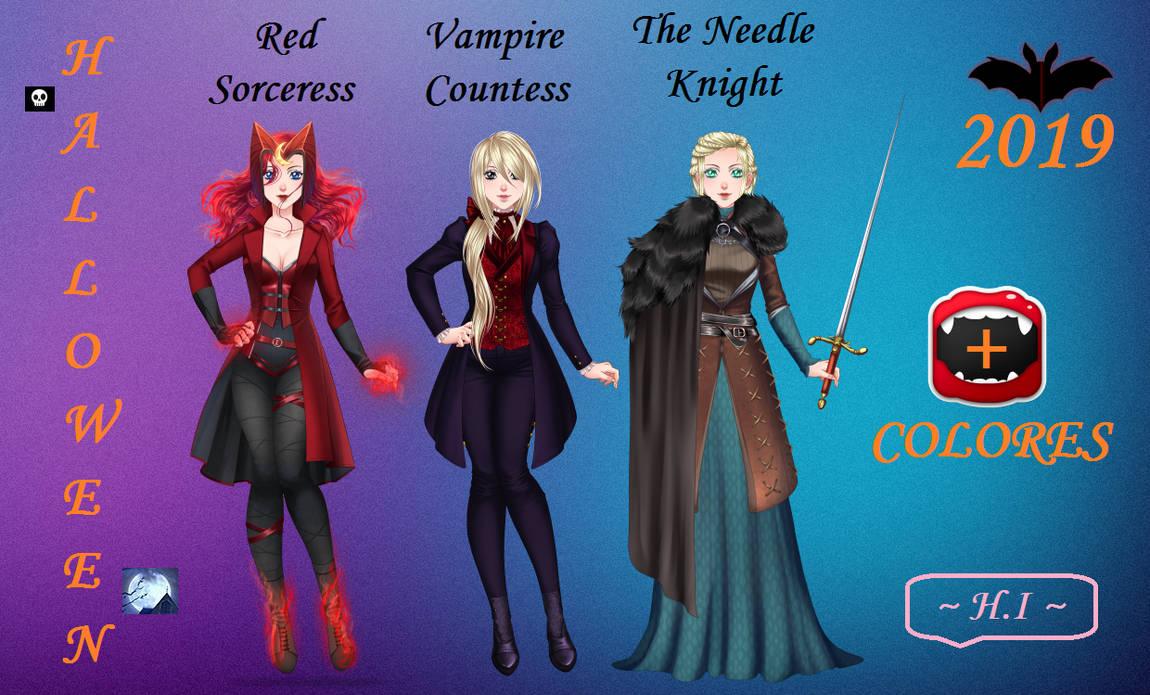 Cdmu Evento Halloween 2020 CDMU: Conjuntos Halloween 2019 + Colores by HikariIzuru on DeviantArt