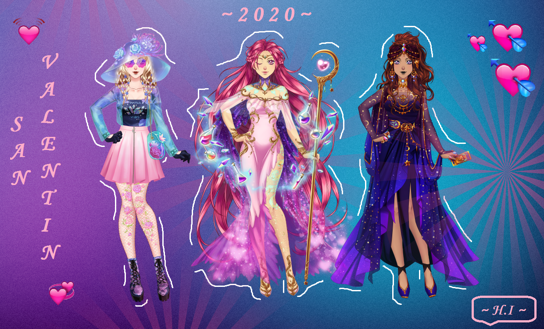 Cdmu Evento Halloween 2020 San Valentin 2020 by HikariIzuru on DeviantArt
