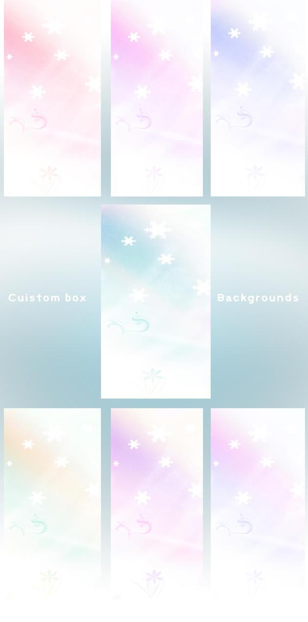Winter Custom box BG Set by jackroono