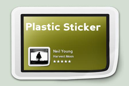 Bowtie - Plastic Sticker by ProiektHat