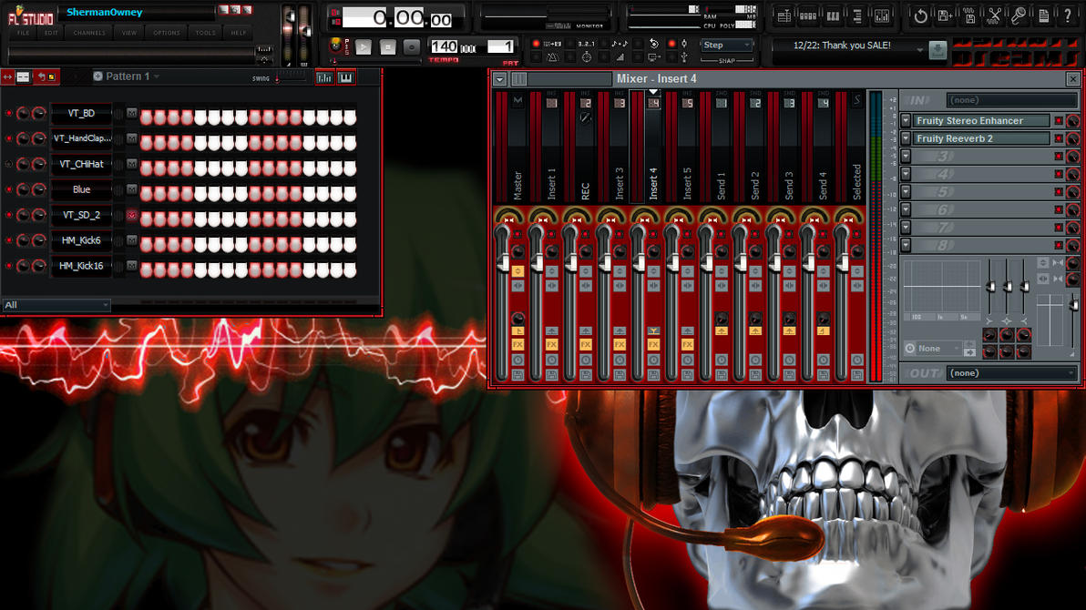 145 Skins for FL Studio screenshot