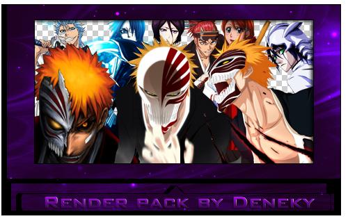 Bleach render pack by Deneky