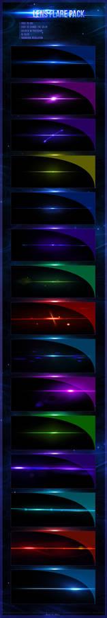 Lens Flare - 15 file pack