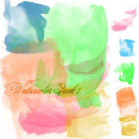 Watercolor Brush Pack 1 by youstolemysoul2