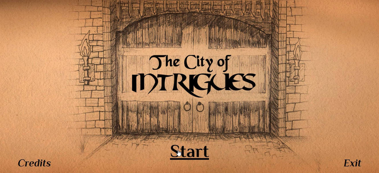 The City of Intrigues - Interactive Fiction Game