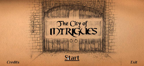 The City of Intrigues - Interactive Fiction Game by iamjcat