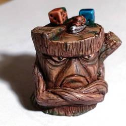 Miniature painting : Treeman Snail from Fanath Art