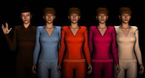 T'pol Uniform Textures