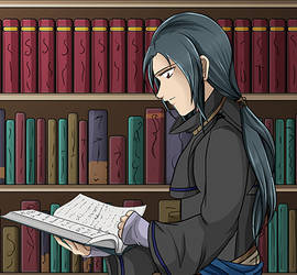 Soren Reading animation test by Alamino