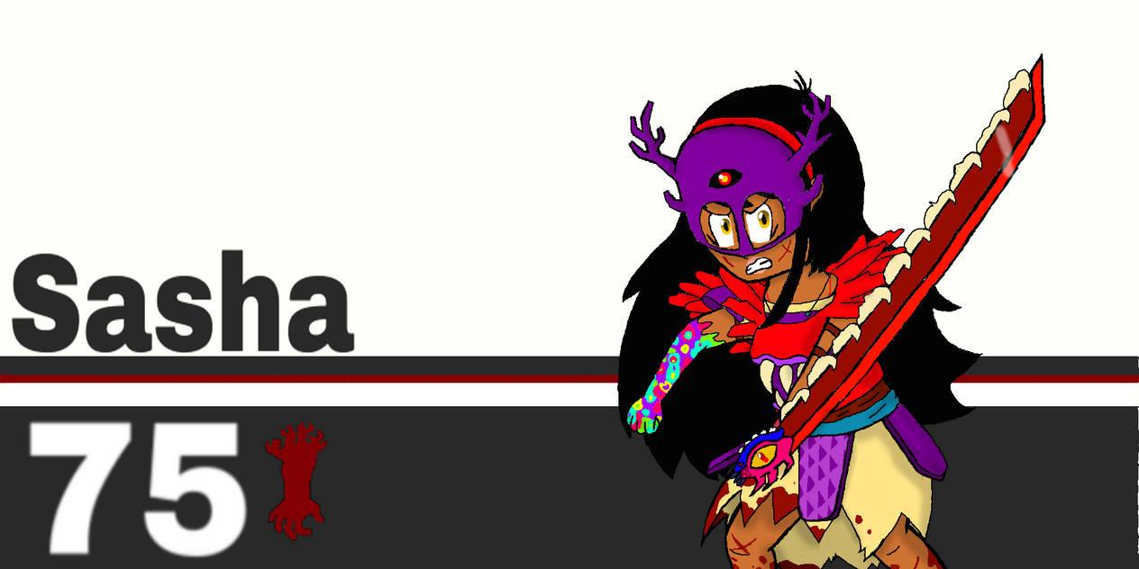 Super Smash bros Ultimate: Sasha