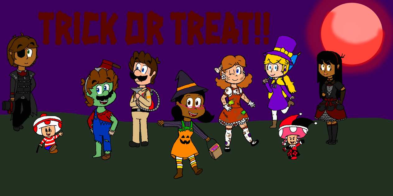 Happy Halloween 2018! by SuperToni14