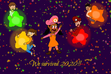 New Year with Miiverse buddies!