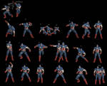 Captain America Pose Pack