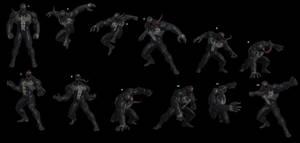 Venom Poses