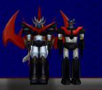Model DL: Great Mazinkaiser and Shin Mazinger Z