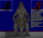 GvK21 Godzilla by WOLFBLADE111