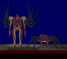 Model DL: Transformers Earth Wars Tarantulas